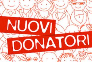 Nuovi donatori